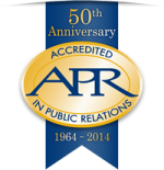 APR 50th logo