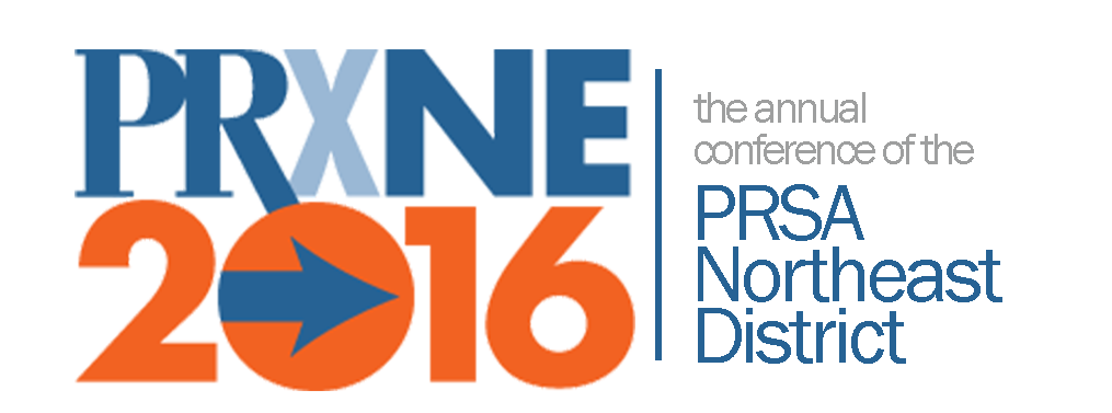 PRXNE16 - the annual conference of the PRSA Northeast District