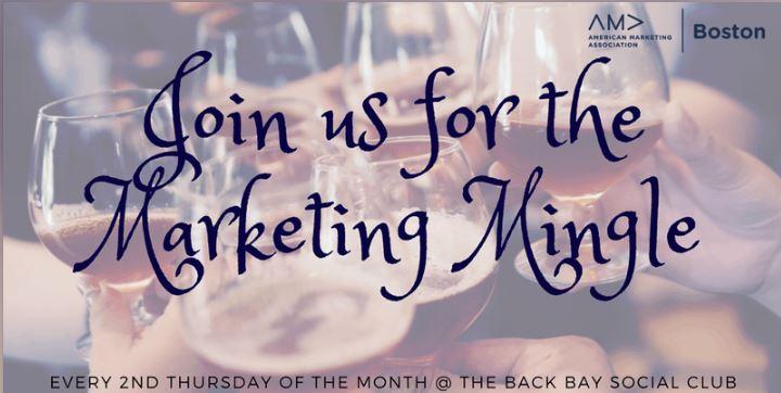 American Marketing Association Boston's Marketing Mingle 2019